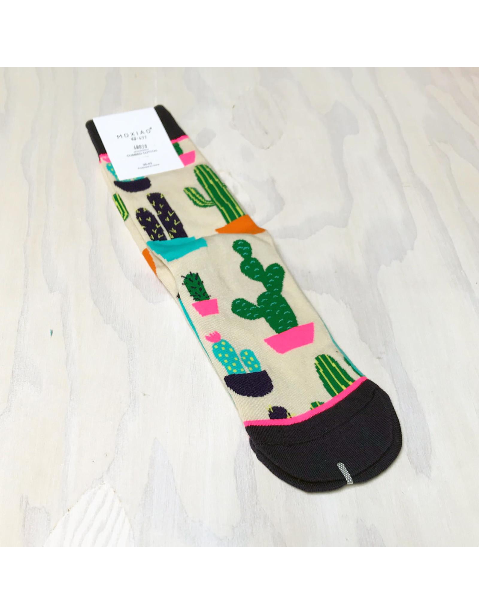 Young & Heart Cactus Socks