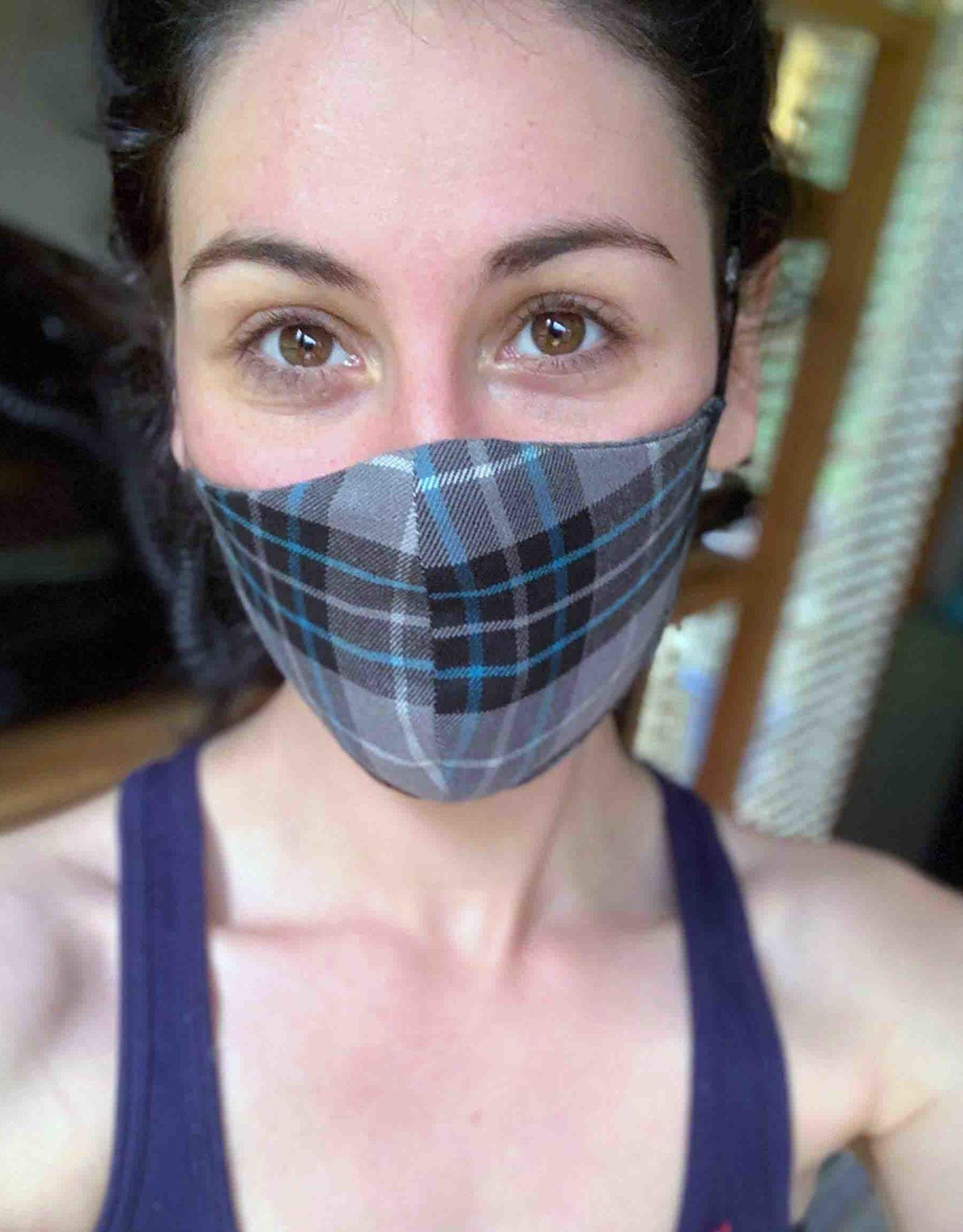 Devil May Wear Dubber Plaid Non-Surgical Mask