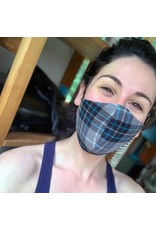Devil May Wear Dubber Plaid Non-Surgical Mask