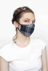 Devil May Wear Around the Ears Mask Dubber Plaid