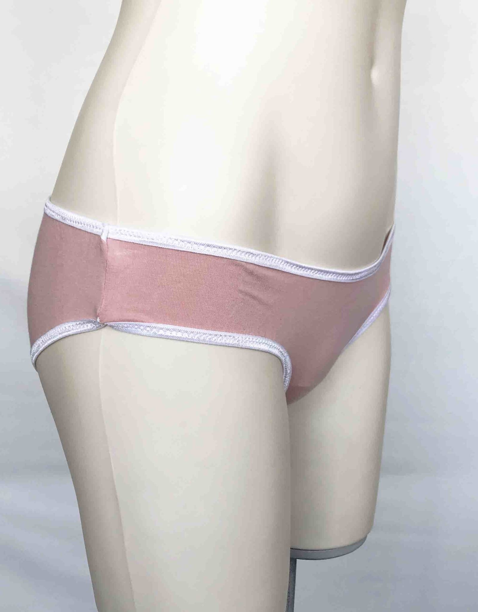 Devil May Wear Basic Bikini Cut Underwear. Bamboo Blend. Cotton Candy