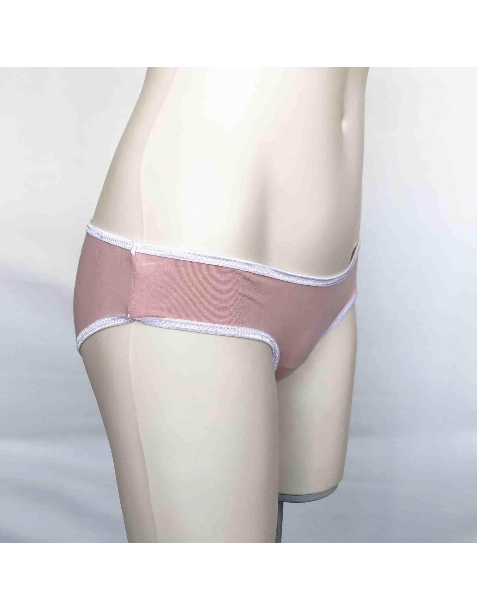 Devil May Wear Basic Bikini Cut Underwear. Bamboo Blend. Cotton Candy