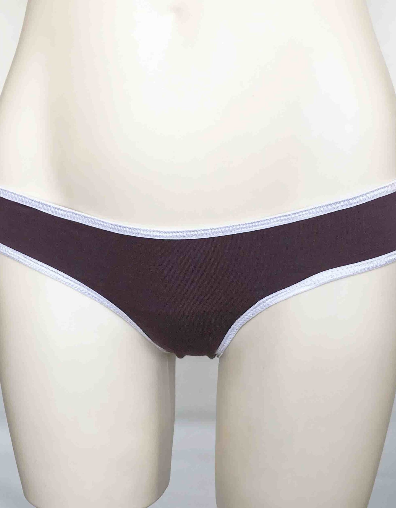 Devil May Wear Basic Bikini Cut Underwear. Bamboo Blend. Flint