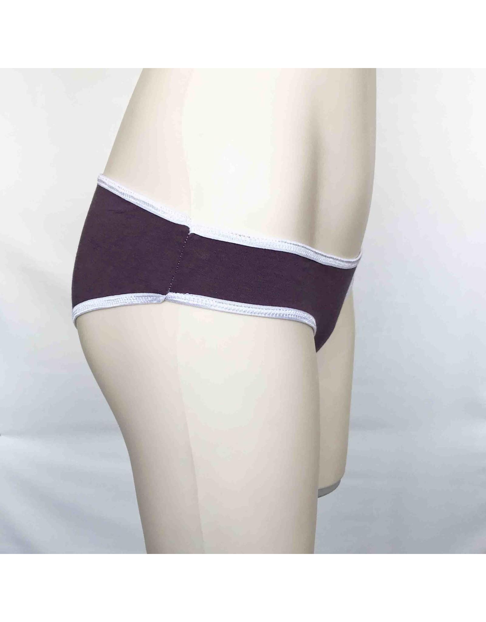 Devil May Wear Basic Bikini Cut Underwear. Bamboo Blend. Flint