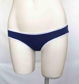 Devil May Wear Basic Bikini Cut Underwear. Bamboo Blend. Cobalt