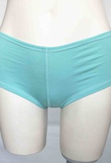 Devil May Wear Hot Shorts Bamboo Blend Underwear. Seafoam