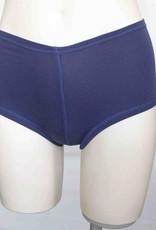 Devil May Wear Hot Shorts Bamboo Blend Underwear. Cobalt