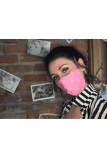 Devil May Wear Non Surgical Adjustable Mask Pink Anchors