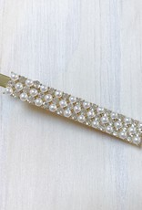 Young & Heart Fancy Pearl Alligator Hair Clip