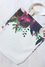 """Young & Heart Bright Bouquet Tote 13""""x13"""""""