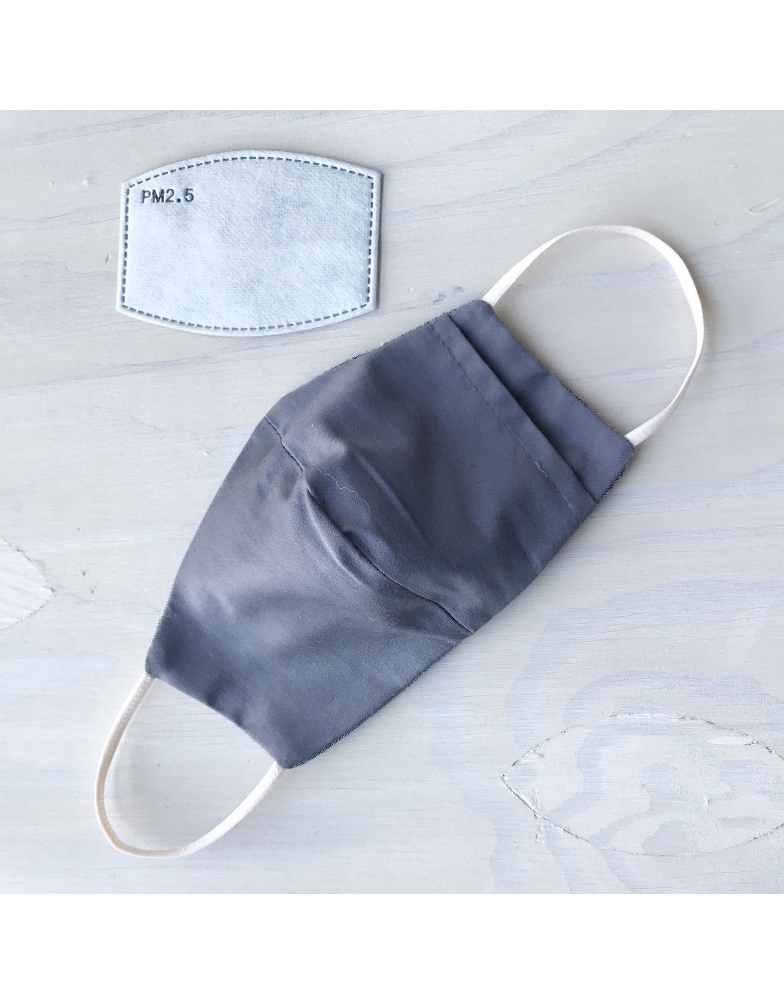 Devil May Wear Two Layer Around the Ear Masks with Filter and Filter Pocket, Cotton, Queen Bee