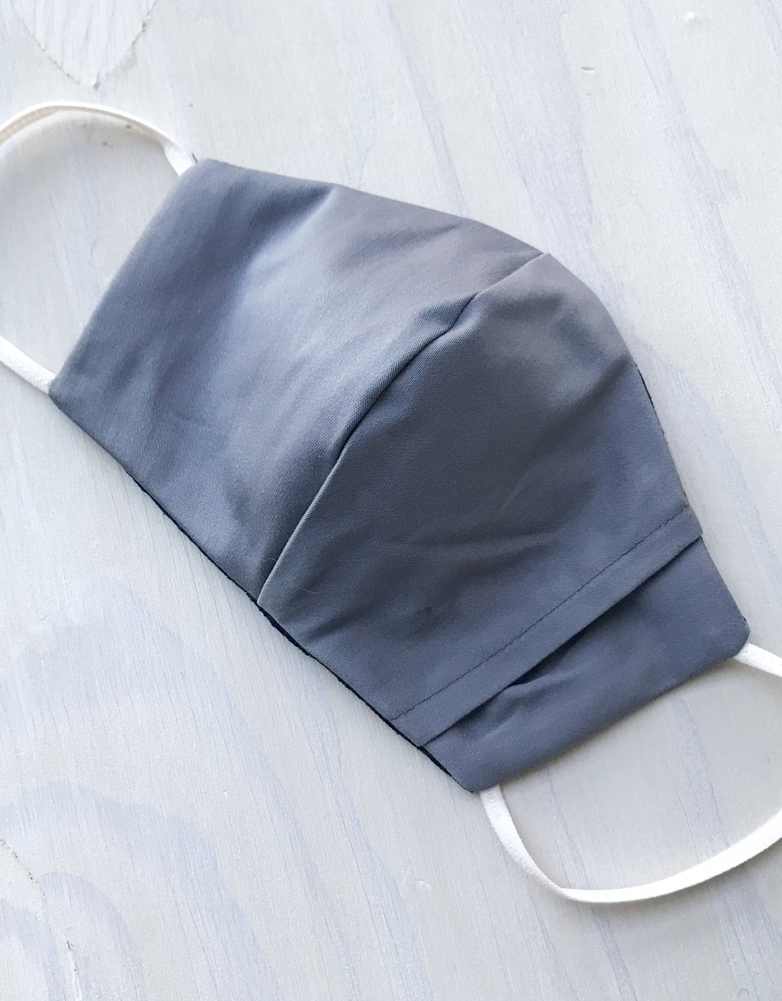 Devil May Wear Two Layer Around the Ear Masks with Filter and Filter Pocket, Cotton, School of Fish