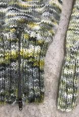 Devil May Wear Delores Hand Dyed Raglan Sweater, 100% Wool. Medium