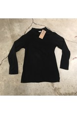 Devil May Wear Essential Bamboo Blend Turtleneck, Black