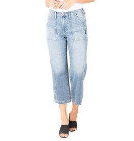 Silver Brand Jeans Utility Straight Leg, Indigo, / 90% Cotton, 9% Polyester, 1% Elastane