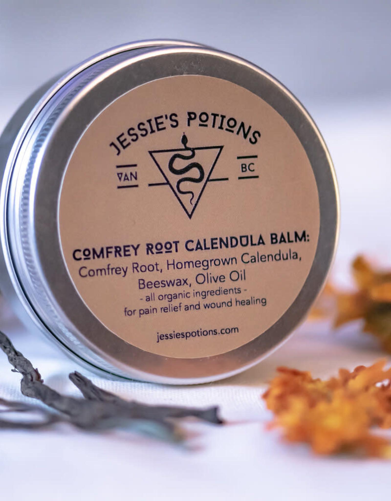 Jessie's Potions Comfrey Root Calendula Balm, Jessie's Potions