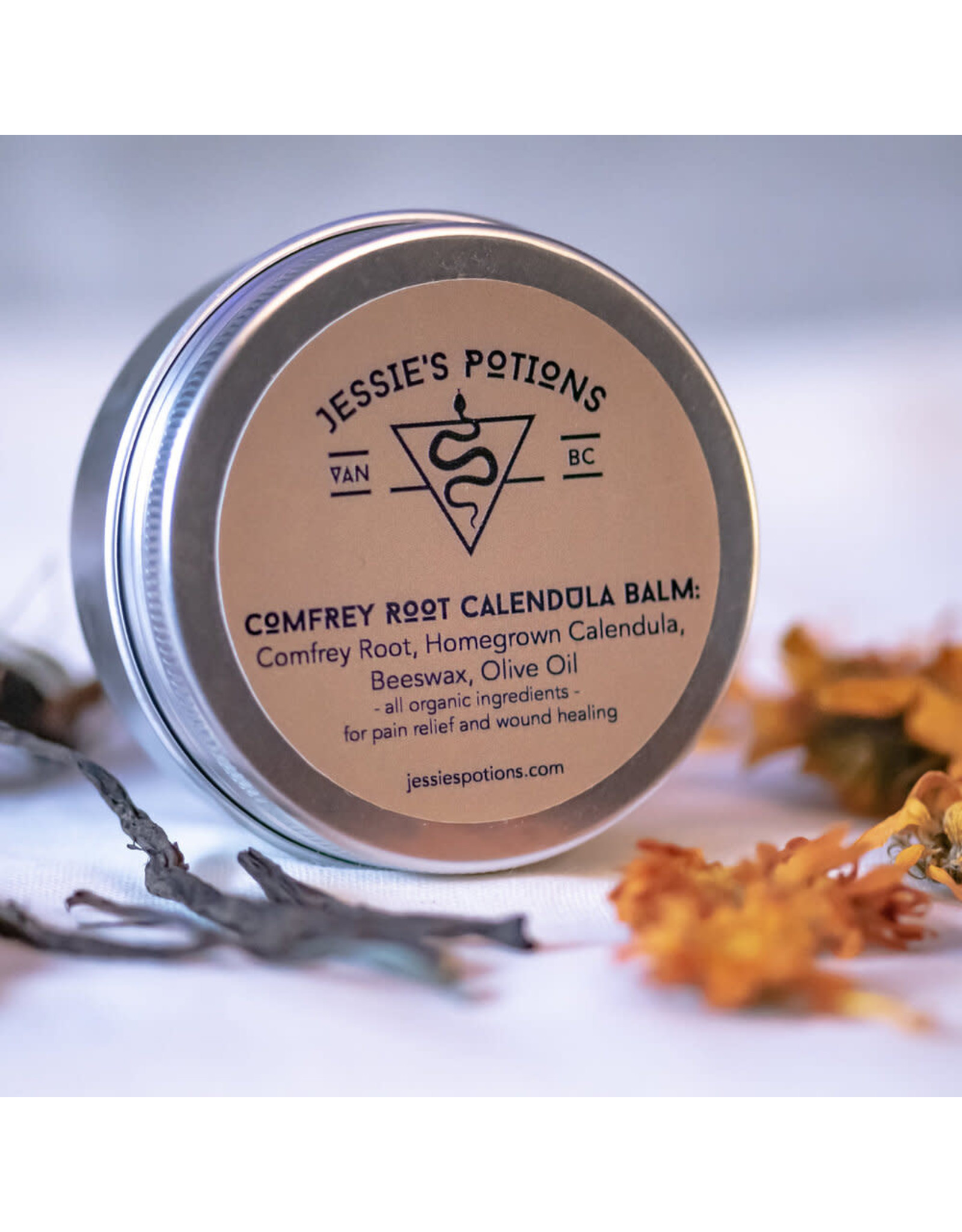 Jessie's Potions Comfrey Root Calendula Balm, Jessie's Potions