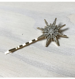 Young & Heart Starburst Bobby Pin