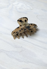 Young & Heart Resin Lobster Clip, Torti
