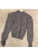 Devil May Wear Jasper Cardigan X Small, 85% Extrafine Merino Wool, 10% Silk, 5% Cashmere