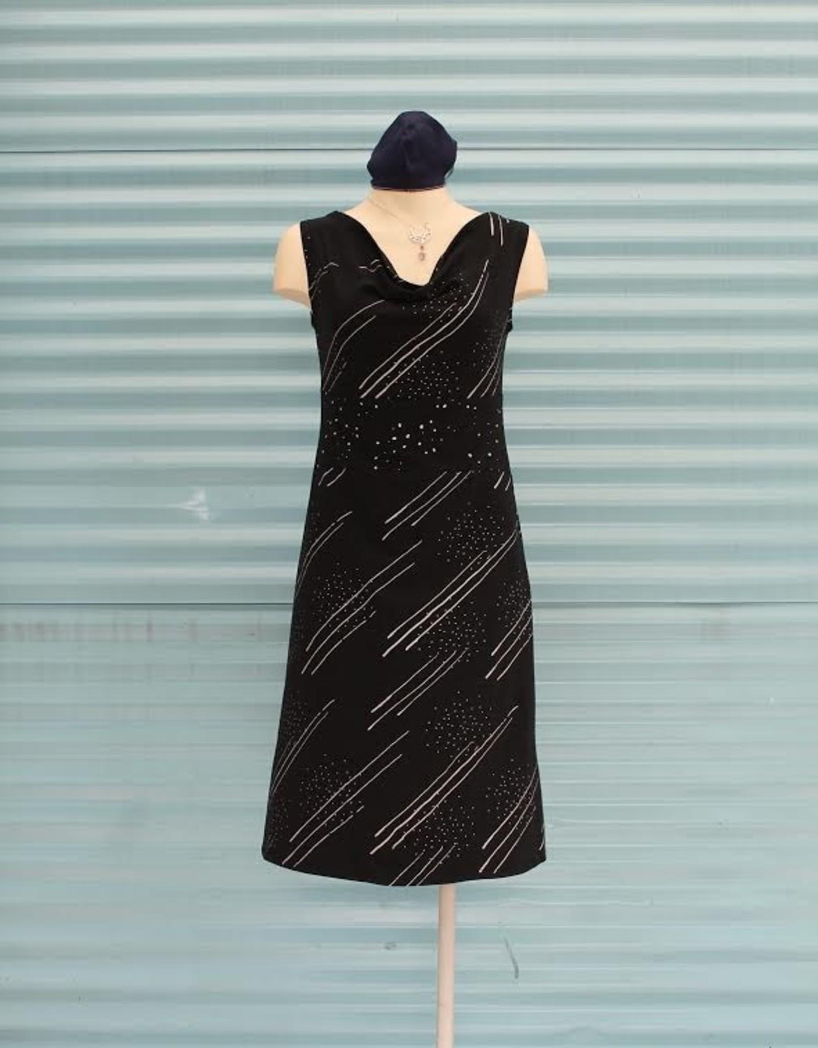 Texture Bliss Dress, Texture,  Shooting Star & Milky Way