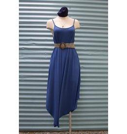 Gilmour Bamboo Flowy Slip Dress, Gilmour, Sapphire