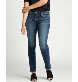 Silver Brand Jeans Avery Straight, Indigo