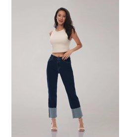 Yoga Jeans Brand Yoga Jeans, Chloe High Rise Straight, Moonlight