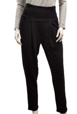 Gilmour Gilmour Bamboo French Terry Pleated Trouser, Black