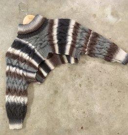 Devil May Wear Wanderer Cropped Sweater. Medium. 100% Wool