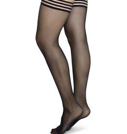 Swedish Stockings Swedish Stockings, Mira Stay Up, Black