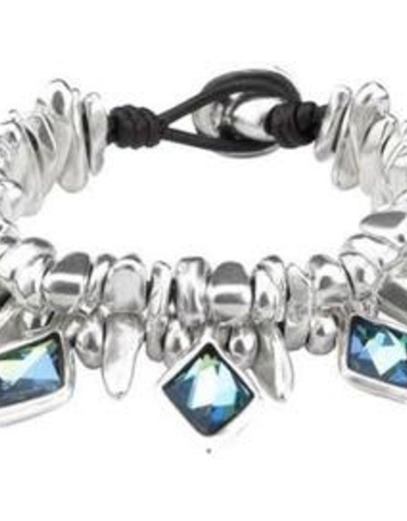 Uno de50 Uno de50 Stalactite Bracelet Medium
