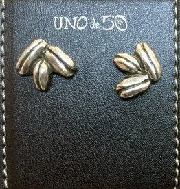 Uno de50 Coffee Bean Earrings