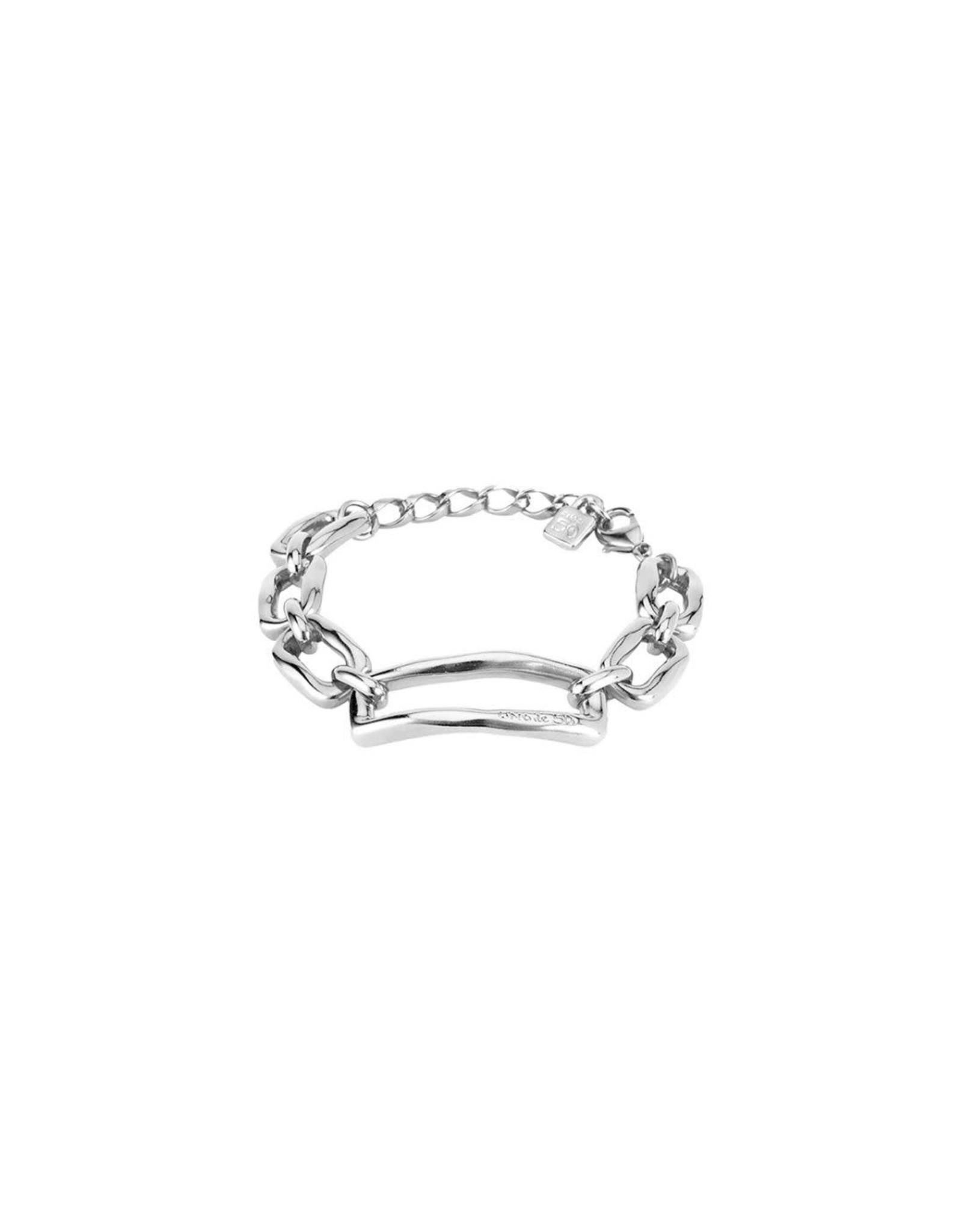 Uno de50 Chain by Chain Bracelet