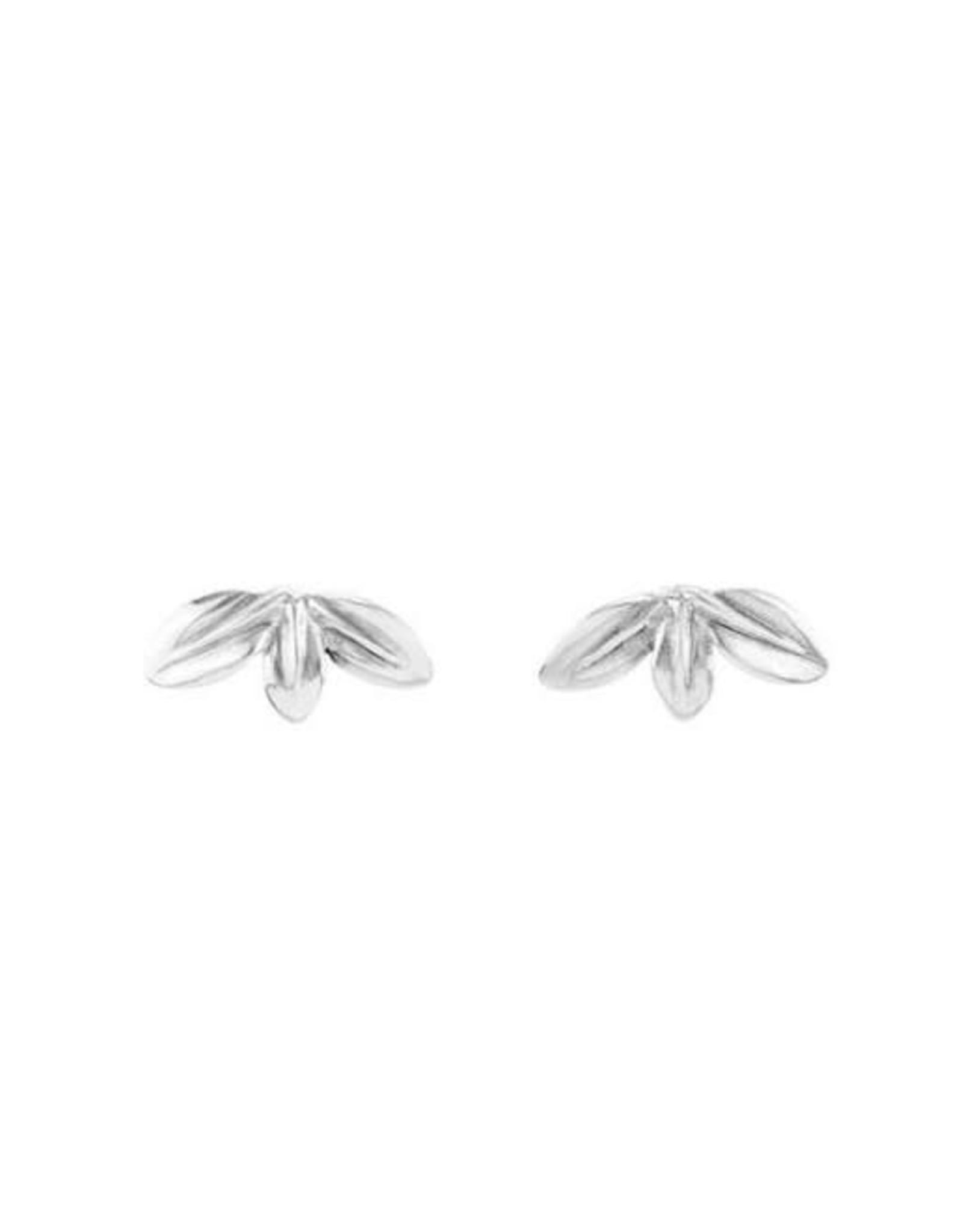 Uno de50 Leaf Me Alone-Silver