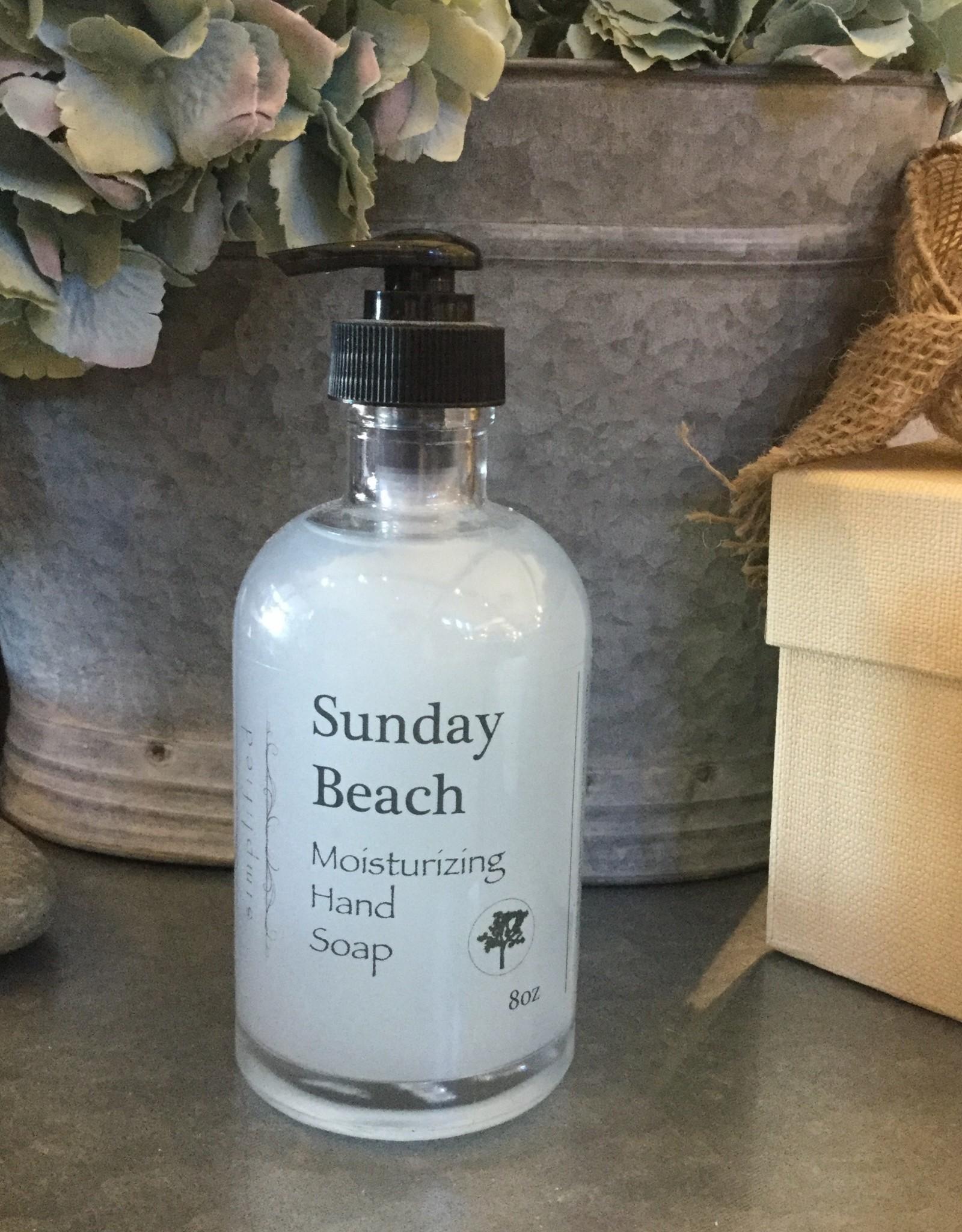 Hand Soap 8oz - Sunday beach