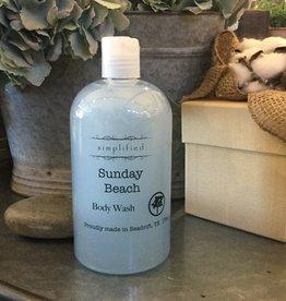 Simplified Soap Body Wash - Sunday Beach