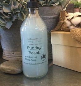 Simplified Soap Hand Soap 16oz - Sunday Beach