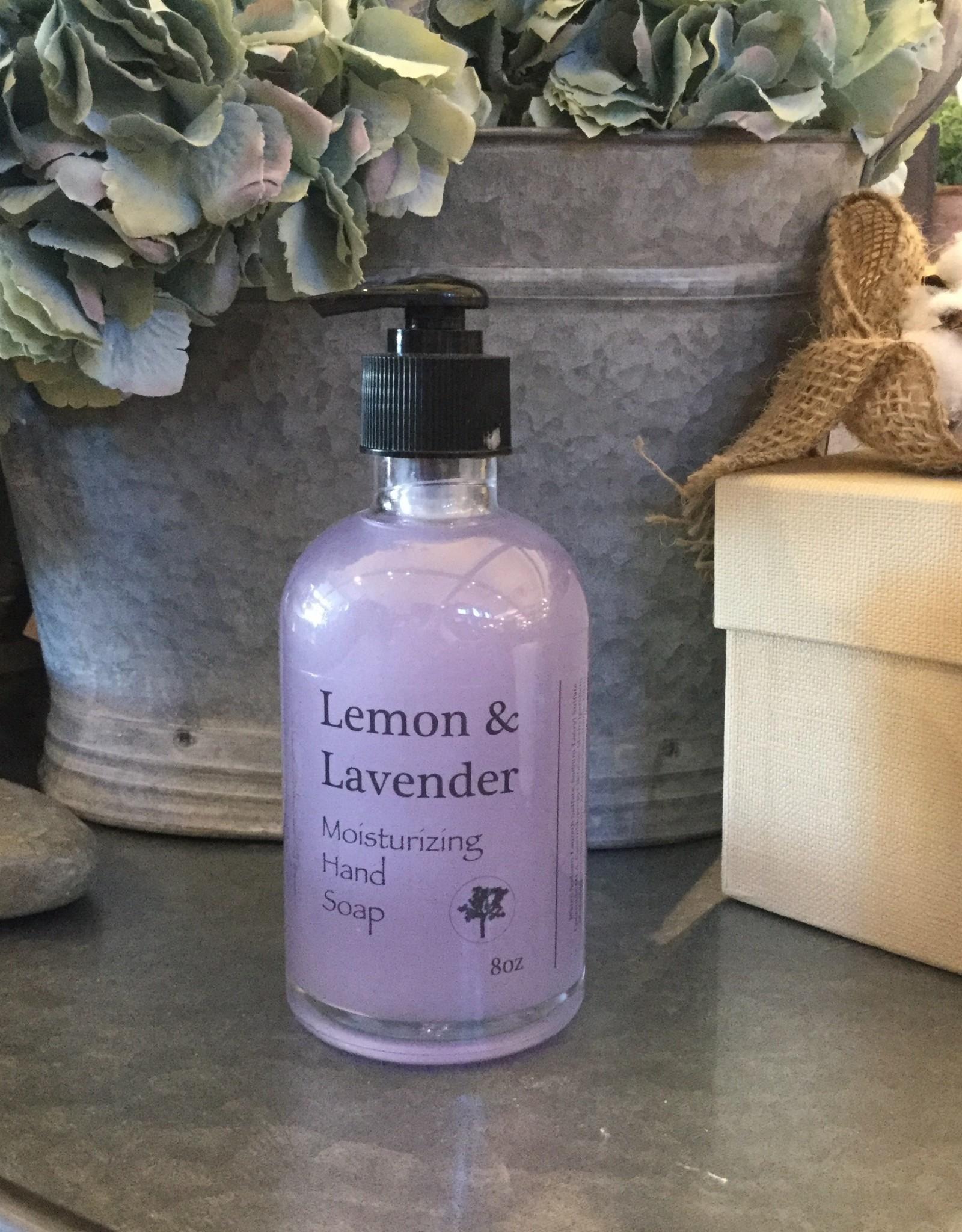 Hand Soap 8oz- Lemon & Lavender