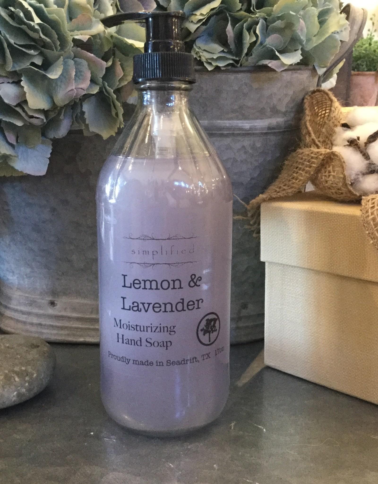 Simplified Soap Hand Soap 16oz - Lemon & Lavender