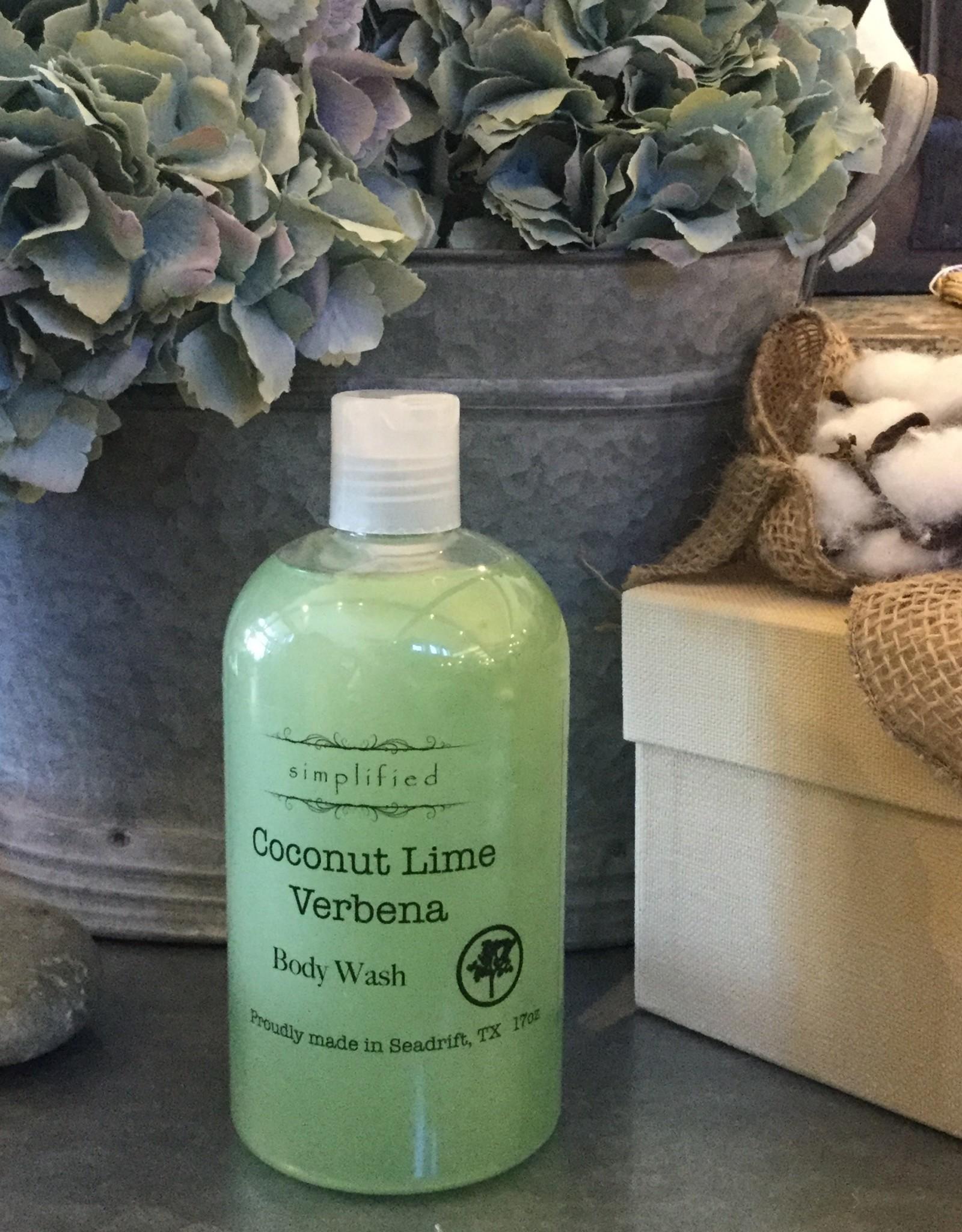Simplified Soap Body Wash - Coconut Lime Verbena