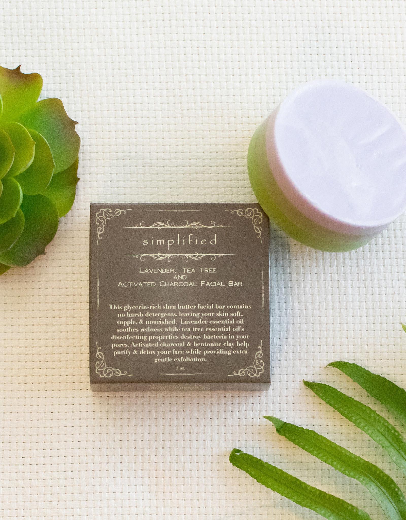 Simplified Soap Lavender/Tea Tree Facial Bar