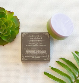 Simplified Soap Lavender/Tea Tree Facial Bar