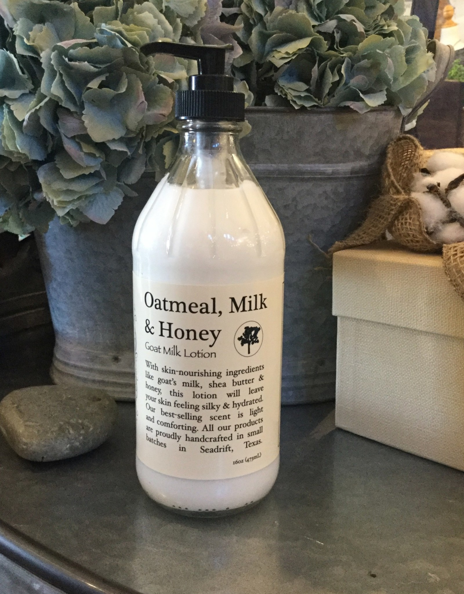 Simplified Soap Lotion 16oz - Oatmeal, Milk, & Honey