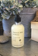 Hand Soap 8oz - Oatmeal, Milk & Honey