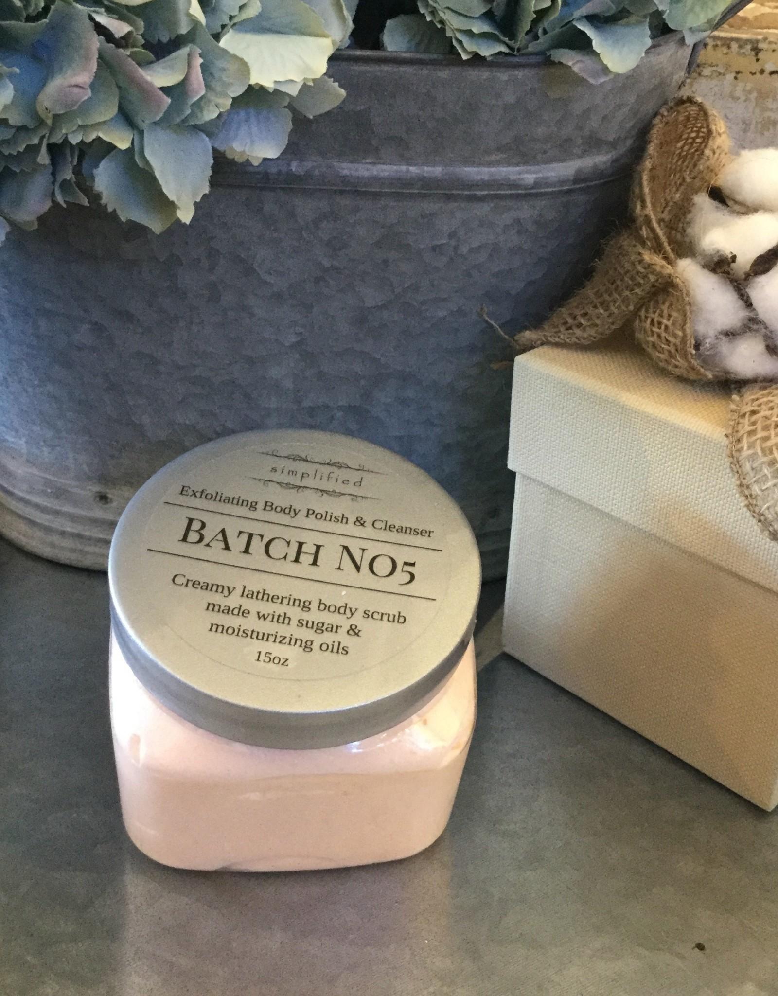 Simplified Soap 15 oz Body Polish - Batch no5