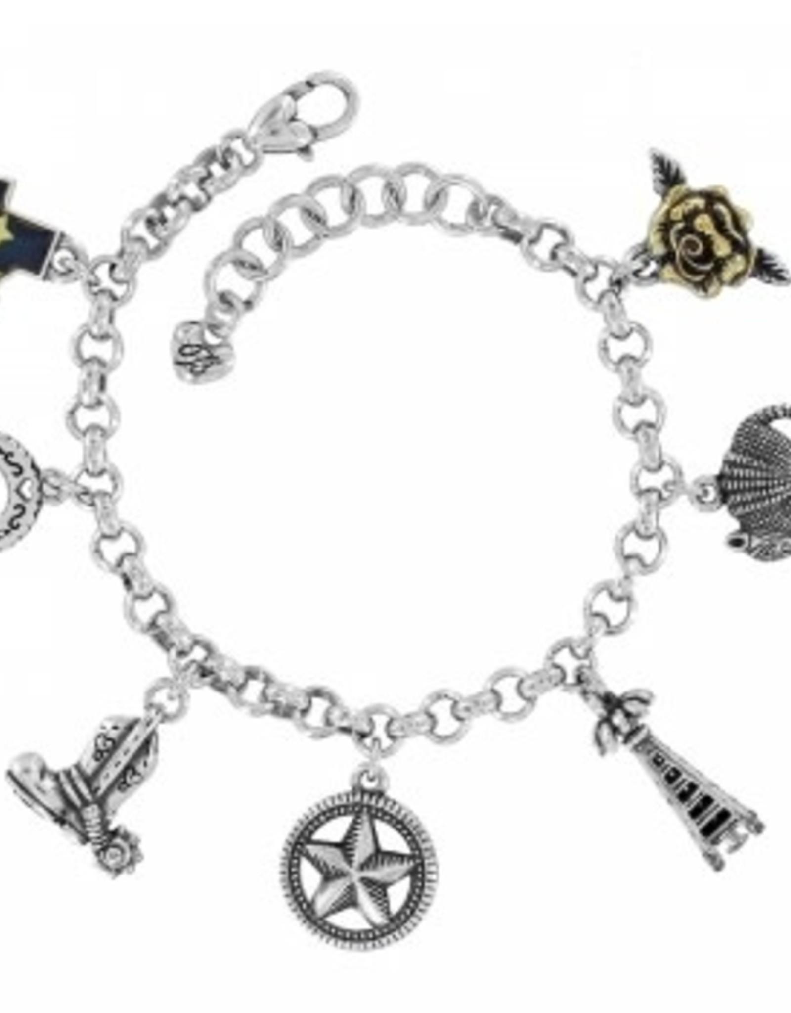 Texas State Charm Bracelet Clara Ida