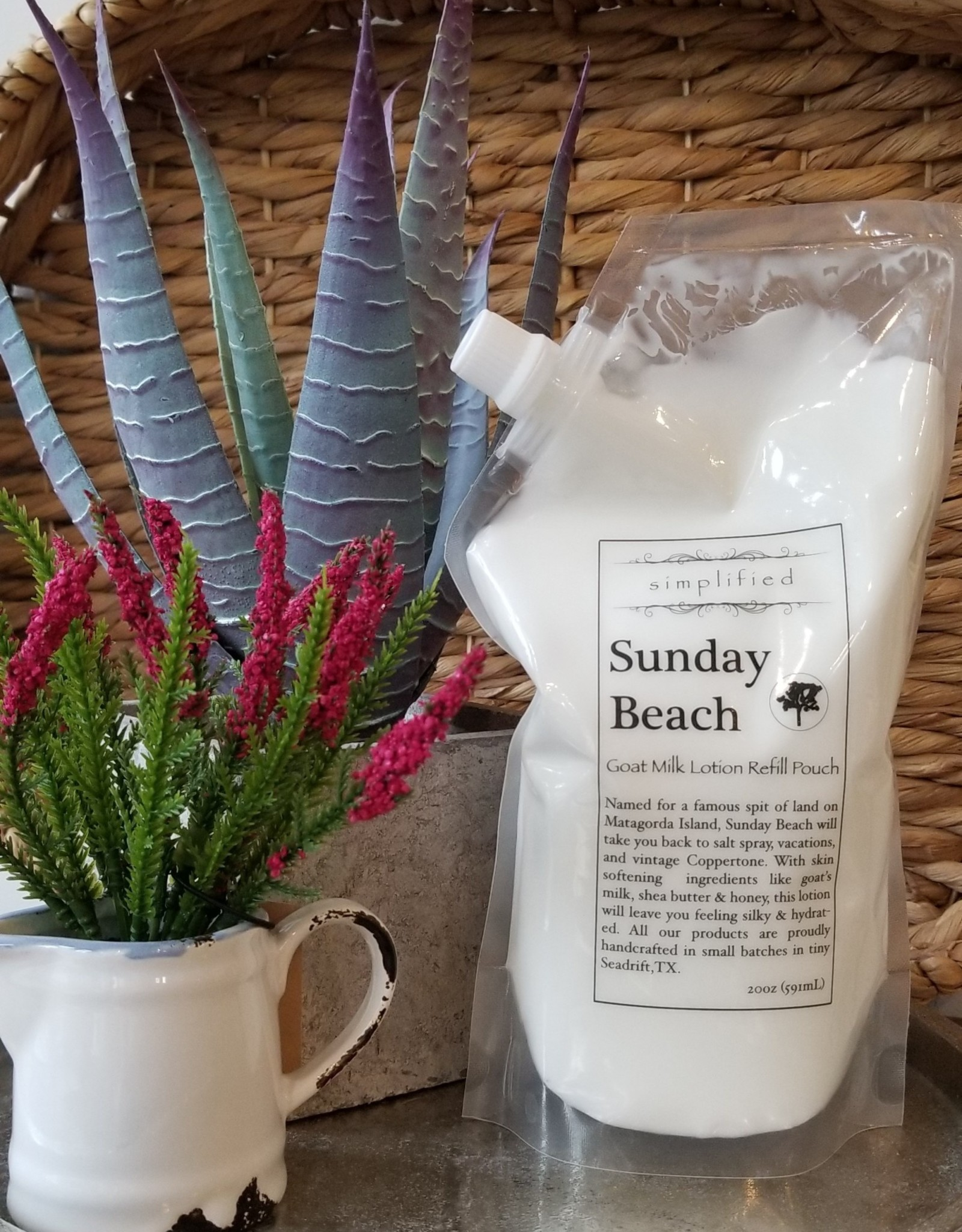 Simplified Soap Lotion Refill - Sunday Beach