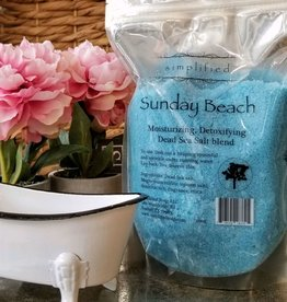 Bath Salt Bag -Sunday Beach