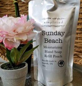 Simplified Soap Hand Soap Refill - Sunday Beach